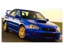 2004 Subaru Impreza WRX Sti Automobile Photo Poster zc9859