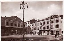 #BAGNI DI CASCIANA: PIAZZA DELLE TERME - 1934