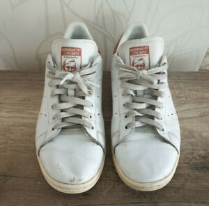adidas Stan Smith Schuhe Sneaker Weiß Gr. 43 1/3