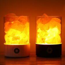 Himalayan Salt Crystal Rock Lamp Negative Ionic Lava Stone Bedside Night Light