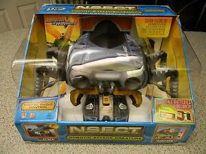 Tyco N.S.E.C.T. Robotic Attack Creature: Brand New in Sealed Box Collectible