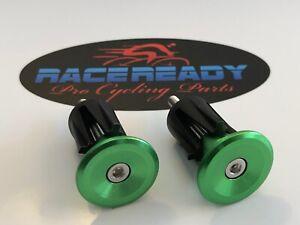 2 Race Ready... Alloy Handlebar End Caps...MTB...BMX..Specialized Bikes