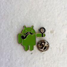 Android Apple Iphone Mobile Phone 'Sherlock Holmes' Pin Badge. IOS IPad Samsung.