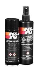 K&n Filtro aria Sportivo Set pulizia Detergente 335ml Olio 204ml Fit64