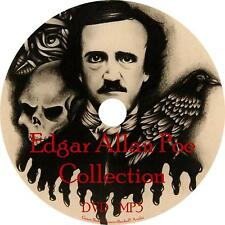 Edgar Allan Poe Audio Book Works Collection on 1 MP3 DVD Horror Raven FREE SHIP
