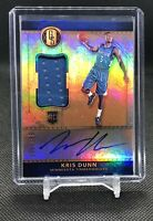 2016-17 Gold Standard KRIS DUNN JERSEY /199 Rookie Patch Auto RPA Holo Autograph