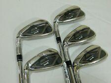 New LH Taylormade M4 Iron set 5-9 Steel KBS Max Regular irons M-4 - 5,6,7,8,9
