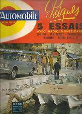 L'AUTOMOBILE 204 MASERATI 1926 1962 TRIUMPH VITESSE 6 MG MIDGET RENAULT RAMBLER