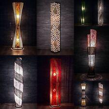 Asiatische Stehleuchte Designer Stehlampe Naturlampe Leuchten Bali Deko 150cm