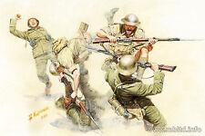 Masterbox 1:35 - British & German Infantry in action North Africa WW2