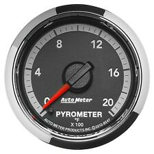 Auto Meter 8547 Dodge 4th Gen Factory Match EGT Pyrometer Gauge 0-2000 Degrees