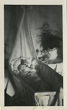 PHOTO ANCIENNE - VINTAGE SNAPSHOT - ENFANT DÉFUNT POST MORTEM - CHILD DEAD
