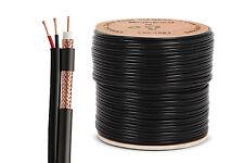 Nordstrand 100m Escopeta Rg59 Cable Coaxial Cctv Cámara De Seguridad-Video Y Potencia