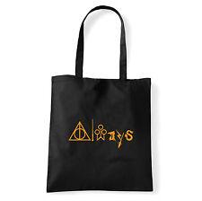 Art T-shirt, Borsa  Always Harry Potter, Nera, Shopper, Mare
