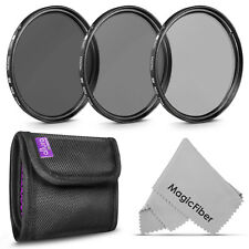 77MM Altura Photo® ND Neutral Density Filter Set ND2 ND4 ND8 for Canon Nikon