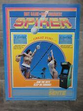 Spiker Video Arcade Machines Flyer Original Bally Brochure