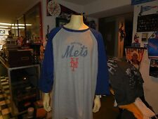 new york mets majestic  big and tall shirt size 5 xl