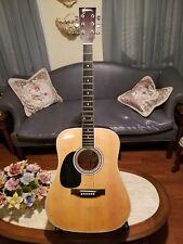 Esteban American Legacy Acoustic Electric Guitar Model AL-100 w/Case Left Handed