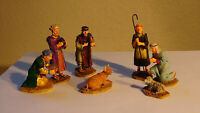 LEMAX Christmas Village Collectible Resin Nativity Figures