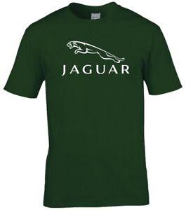 Jaguar Car Logo Premium cotton T-shirt