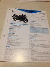 Kawasaki ZX-6R ZX6R Ninja F1 95 F2 96 ZF600F Fiche technique moto RMT ETAI