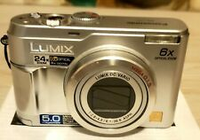 Panasonic LUMIX DMC-LZ2 5.0MP Digital Camera - Silver *GOOD/TESTED*