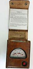 Blendux light meter 1933 in leather case