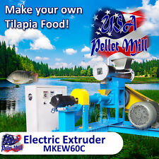 Electric Extruder for Tilapia Food - MKEW60C (USA)
