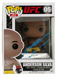 Anderson Silva Signed UFC Funko Pop PSA/DNA