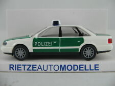 "Rietze 50660 Audi A6 Limousine (1994) ""POLIZEI"" in grün/weiß 1:87/H0 NEU/OVP"