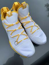 Nike Kobe Bryant AD TB White/Yellow Basketball Shoes AT3874-106 Size 18 No Box