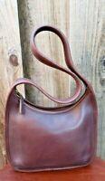 Coach Brown Leather Purse Handbag 9020, Vintage USA