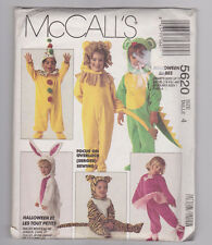 McCall's 5620 Toddler Halloween Costume Pattern Size 4 New, Uncut
