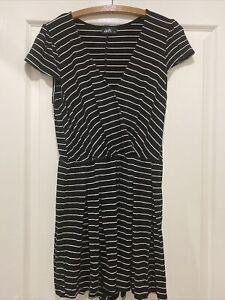 Dotti Stripe Jumpsuit Size 10
