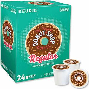 Keurig Original Donut Shop Medium Roast Coffee Pod K-Cups 24 Count FREE SHIPPING