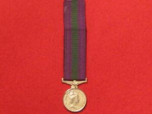 Miniature Original GSM 1918 1962 Medal EIIR with ribbon no clasp
