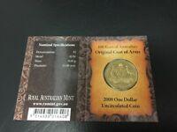 2008 Dollar RAM $1 UNC - Coat of Arms C Privymark (Mintmark)