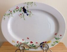 Paula Deen 14 Inch Oval Platter - Spring Medley