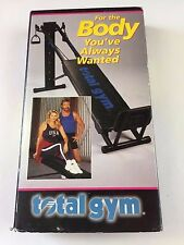 VHS Total Gym For the Body You've Always Wanted - Christie Brinkley Chuck Norris