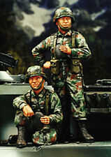 Modern Japanese Infantry, 2 Soldiers (1/35 figures, Warriors 35089)