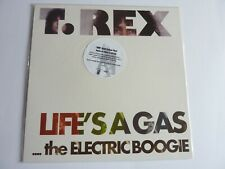 T. REX LIFE'S A GAS  NUMBERED YELLOW VINYL NEW SEALED