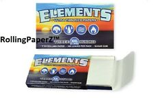 BUY TWO Packs 1 1/4 Elements Ultra Thin Rice Rolling Papers 300 Leaves Per Pack