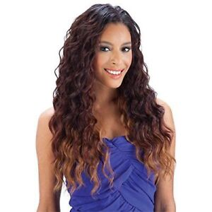 QUE MALAYSIAN LOOSE WAVE 7PCS BUNDLE HUMAN HAIR BLENDED WEAVE EXTENSION