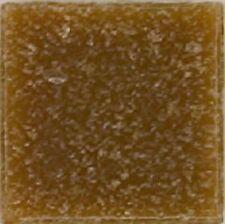 Tan Brown Vitreous Glass Mosaic Tiles - 25 Tiles - 3/4 inch
