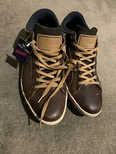 Wild Rhino Glide Mens Size 44 Leather Lace Up Shoes US10