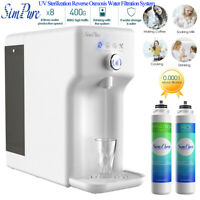 Y6 UV RO Water Filter System Bottleless Drinking Dispenser,Hot,Room Temperature