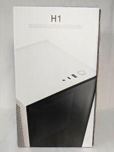 NZXTH1 Mini-ITX Case with 650W Power Supply & 140mm AIO Liquid CPU Cooler-Black