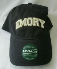 EMORY UNIVERSITY LEGACY RELAXED TWILL ADJUSTABLE CAP HAT