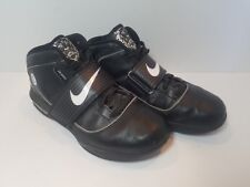 bec3422caba New ListingNike Zoom Soldier IV Lebron James 407630-001 Black Witness High  Top Men s US 9