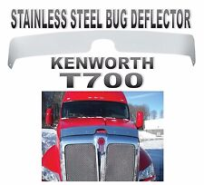 KENWORTH T700 STAINLESS STEEL BUG DEFLECTOR (2011+ or Newer)